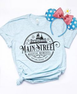 Disney Main Street USA Shirt AY