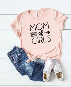 Mom of Girls Tee, AY