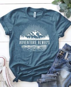 Outdoors T-shirt, Adventure always. AY