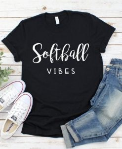 Softball Vibes Tshirt ,AY