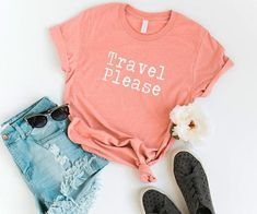 TRAVEL PLEASE TSHIRT AY