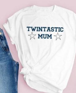 Twin mum T-shirt AY