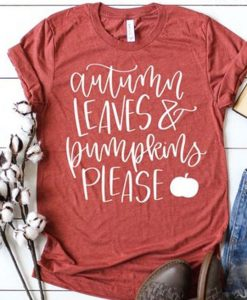 AUTUM LEAVES TSHIRT AY