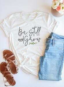 BE STILL TSHIRT AY