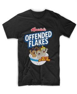 America's Offended Flakes T Shirt AY