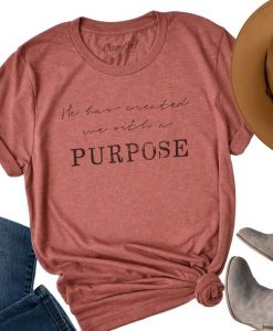 Created with Purpose - Tee ay