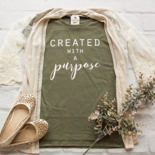 Created with a Purpose Short AY