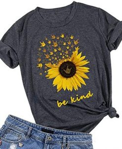 Be Kind Sunflower T-Shirt