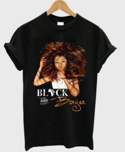 Black And Boujee T-shirt