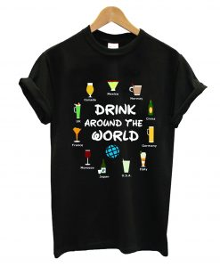 Drinking Around The World Epcot T-Shirt