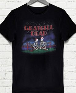 Grateful Dead Golden Gate San Francisco Skeleton T-shirt
