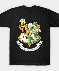 Harry Potter Pokemon Gotta Catch'em All T-shirt