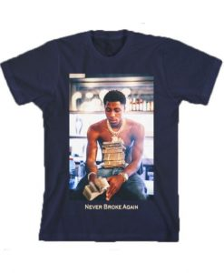 Youngboy Money Stacks Never Broke Again T-shirt