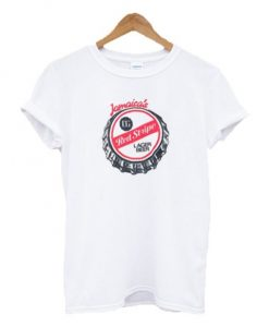 Jamaica's Red Stripe Lager Beer T Shirt