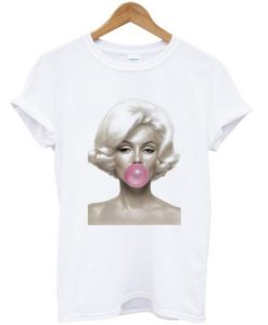 Marilyn Monroe Bubble Gum T-shirt